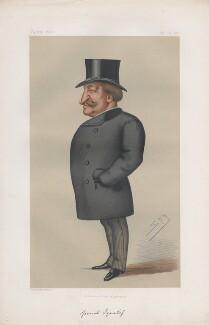 Nikolay Pavlovich, Count Ignatyev ('Statesmen. No. 249.'), by Sir Leslie Ward - NPG D43792