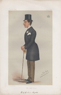 Prince Leopold, Duke of Albany ('Princes. No. 5.'), by Sir Leslie Ward - NPG D43793