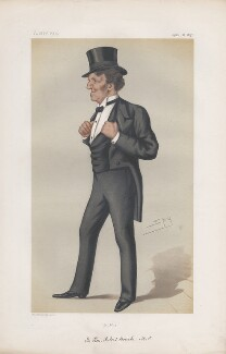 Robert Bourke, 1st Baron Connemara ('Statesmen. No. 250.'), by Sir Leslie Ward - NPG D43794
