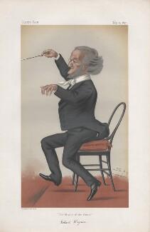 Richard Wagner ('Men of the Day. No. 149.'), by Sir Leslie Ward - NPG D43797