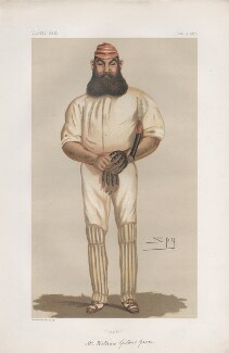 W.G. Grace ('Men of the day. No. 150.'), by Sir Leslie Ward - NPG D43800