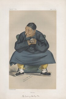 Kuo Sung-tao ('Statesmen. No. 255.'), by Sir Leslie Ward, published in Vanity Fair 16 June 1877 - NPG D43801 - © National Portrait Gallery, London