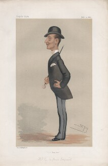 Napoléon, Prince Imperial ('Princes. No. 6.'), by Sir Leslie Ward - NPG D43805