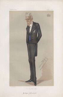 Harry George Powlett (né Vane), 4th Duke of Cleveland ('Statesmen. No. 258.'), by Sir Leslie Ward - NPG D43808
