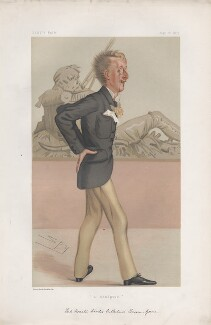 Lord Ronald Charles Sutherland-Leveson-Gower ('Men of the Day. No. 155.'), by Sir Leslie Ward - NPG D43810