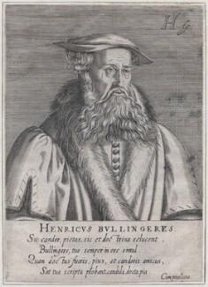 Heinrich Bullinger, by Hendrik Hondius (Hond) - NPG D43266