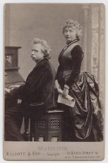 Edvard Grieg; Nina Grieg (née Hagerup), by Elliott & Fry - NPG x197956