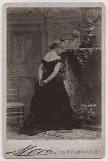 Possibly Christina Anne Jessica (née Cavendish-Bentinck), Lady Sykes, by José Maria Mora - NPG x197959