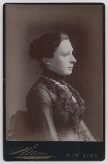 Annie Shepherd Swan (Mrs Burnett Smith), by Napoleon Sarony - NPG x197967