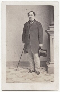 Sir William Howard Russell, by Mathew B. Brady, published by  Edward Anthony - NPG x197980