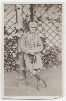 Alexander William George Duff, 1st Duke of Fife when Viscount MacDuff, by Andrew & George Taylor - NPG x197984
