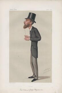 Edmond George Petty-Fitzmaurice, 1st Baron Fitzmaurice (Lord Edmond Fitzmaurice) ('Statesmen. No. 266.'), by Sir Leslie Ward - NPG D43836