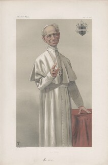Pope Leo XIII ('Sovereigns. No. 14.'), by Théobald Chartran ('T') - NPG D43849