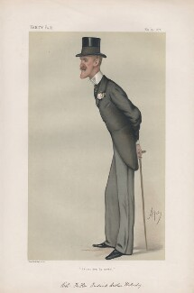 Frederick Arthur Wellesley ('Men of the Day. No. 178.'), by Carlo Pellegrini - NPG D43850