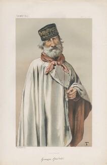 Giuseppe Garibaldi ('Men of the Day. No. 181.'), by Théobald Chartran ('T') - NPG D43853