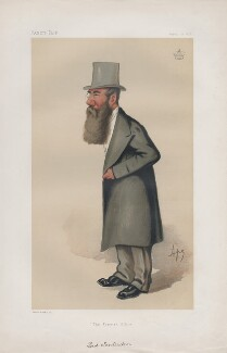 Charles Stuart Aubrey Abbott, 3rd Baron Tenterden ('Statesmen. No. 278.'), by Carlo Pellegrini - NPG D43863