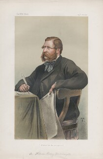 William Henry Waddington ('Statesmen. No. 284.'), by Théobald Chartran ('T') - NPG D43869