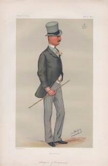 James Edward William Theobald Butler, 3rd Marquess of Ormonde ('Statesmen. No. 286.'), by Sir Leslie Ward - NPG D43871