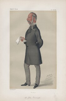 Sir John Tenniel ('Men of the Day. No. 185.'), by Sir Leslie Ward - NPG D43873