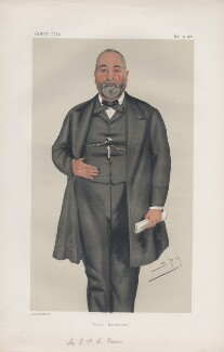 Sir Francis Philip Cunliffe-Owen ('Men of the Day. No. 189.'), by Sir Leslie Ward - NPG D43877
