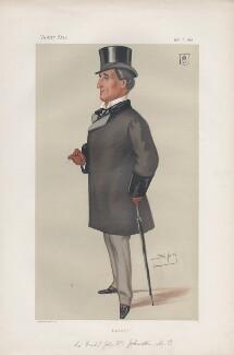 Sir Frederick John William Johnstone, 8th Bt ('Statesmen. No. 288.'), by Sir Leslie Ward - NPG D43879