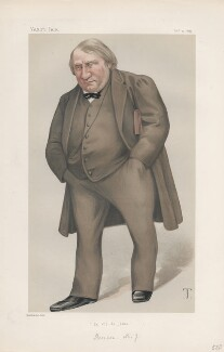 (Joseph) Ernest Renan ('Men of the Day. No. 195.'), by Théobald Chartran ('T') - NPG D43891