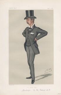 Hon. Edward Stanhope ('Statesmen. No. 299.'), by Sir Leslie Ward - NPG D43898
