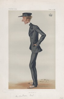 Reginald Windsor Sackville, 7th Earl de la Warr ('Statesmen. No. 312.'), by Sir Leslie Ward - NPG D43920