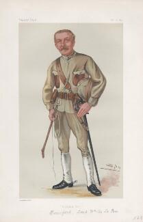 Lord William Leslie de la Poer Beresford ('Men of the Day. No. 205.'), by Sir Leslie Ward - NPG D43924
