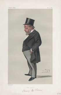 Thomas Chenery ('Men of the Day. No. 206.'), by Sir Leslie Ward - NPG D43925