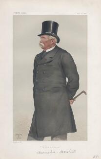 Marie Edme Patrice Maurice de Mac-Mahon, Duke of Magenta ('Statesmen. No. 314.'), by Théobald Chartran ('T') - NPG D43926