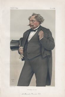 Alexandre Dumas Jr ('Men of the Day. No. 212.'), by Théobald Chartran ('T') - NPG D43938