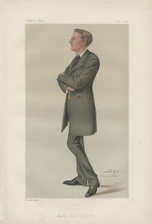 Edric Frederick Gifford, 3rd Baron Gifford ('Statesmen. No. 320.'), by Sir Leslie Ward - NPG D43941