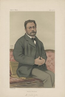 Émile Zola ('Men of the Day. No. 215.'), by Sir Leslie Ward - NPG D43942