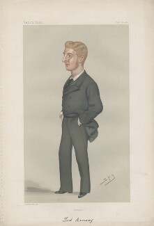 John William Maule Ramsay 13th Earl of Dalhousie ('Men of the Day. No. 218.'), by Sir Leslie Ward - NPG D43947