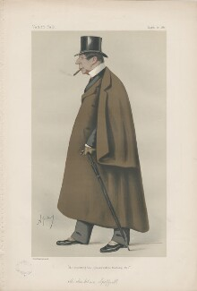 Markham Spofforth ('Men of the Day. No. 220.'), by Carlo Pellegrini - NPG D43950