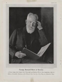 'George Bernard Shaw at Seventy', by Nickolas Muray - NPG x193426