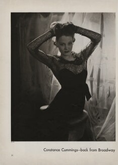 Constance Cummings, by Lusha Nelson - NPG x193427