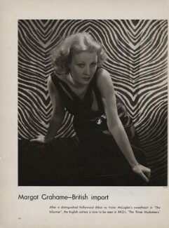 Margot Grahame, by Lusha Nelson - NPG x193428