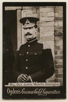 Sir James Melville Babington, published by Ogden's - NPG x197989