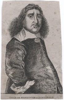 George Monck, 1st Duke of Albemarle, published by Edward Harding, after  Richard Gaywood - NPG D43268