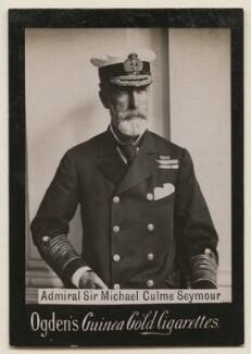 Sir Michael Culme-Seymour, 3rd Bt, published by Ogden's - NPG x197994
