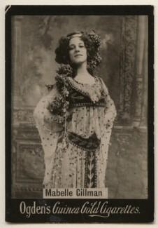 Mabelle Gillman (Gilman) Corey, published by Ogden's - NPG x197995