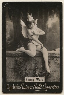 Fanny Ward (Mrs Joe Lewis), published by Ogden's - NPG x197997