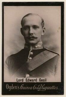 Lord Edward Herbert Gascoyne-Cecil, published by Ogden's - NPG x197998
