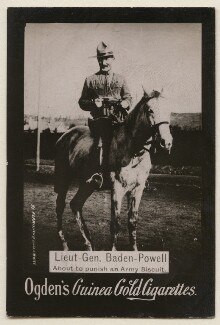 Robert Baden-Powell, published by Ogden's - NPG x193154