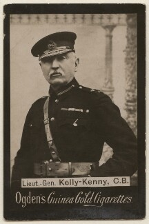 Sir Thomas Kelly-Kenny, possibly by Charles Knight, published by  Ogden's - NPG x193157