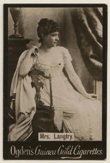Lillie Langtry, published by Ogden's - NPG x193159