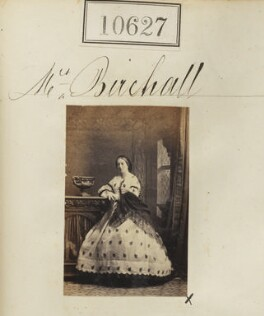 Mary King Birchall (née Bleazard), by Camille Silvy - NPG Ax60341