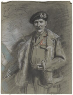 Bernard Law Montgomery, 1st Viscount Montgomery of Alamein, by Frank Salisbury - NPG 7008(2)